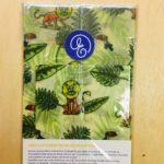 emballage cire d'abeille réutilisable